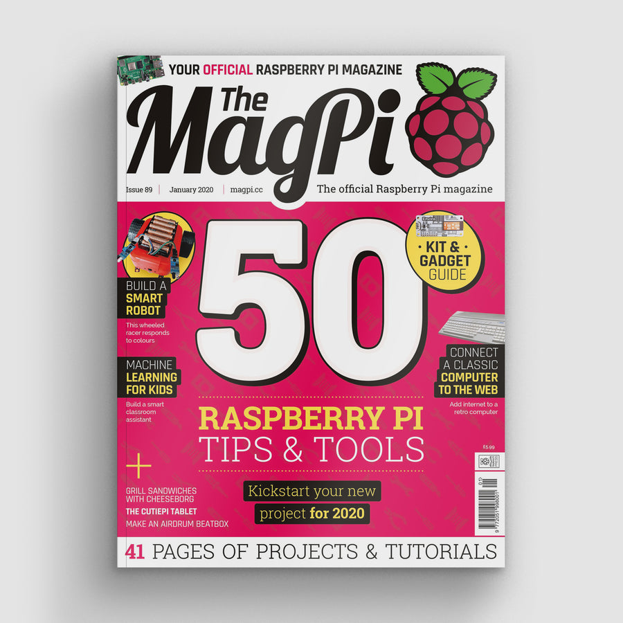 The MagPi magazine #89
