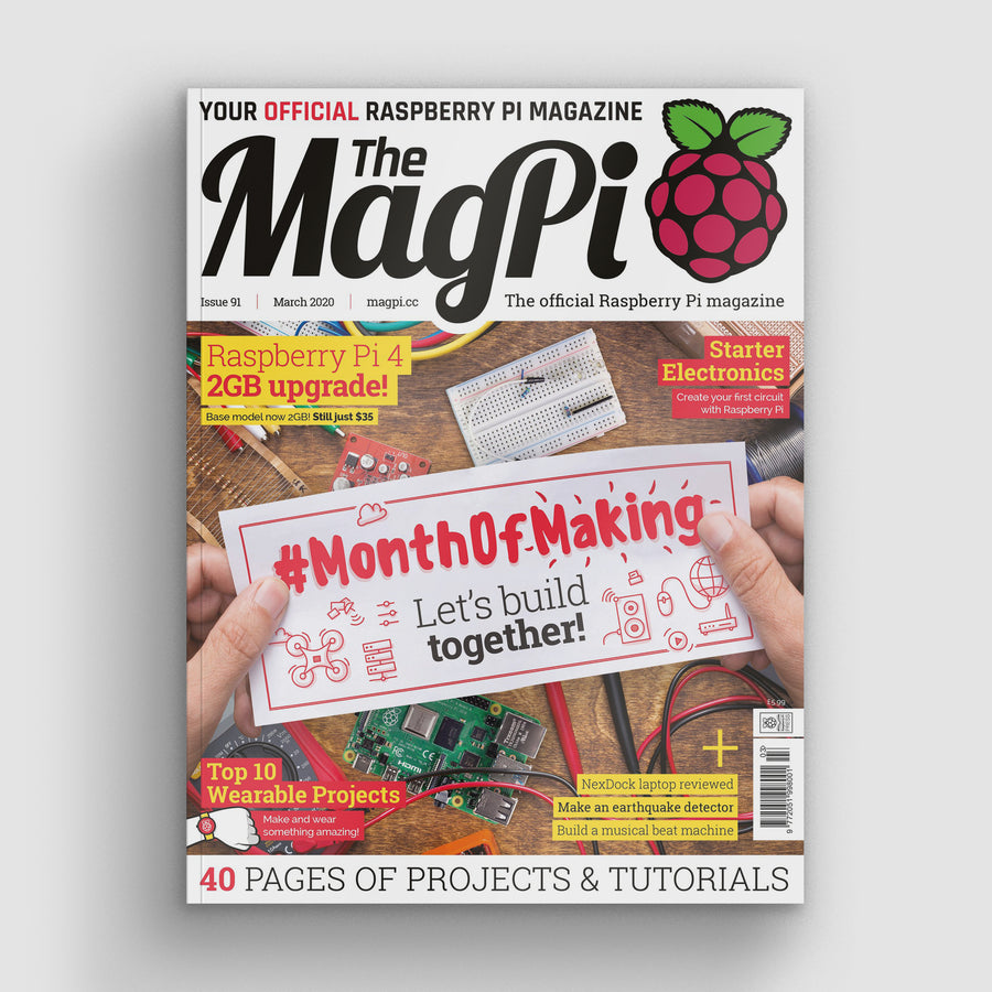 The MagPi magazine #91