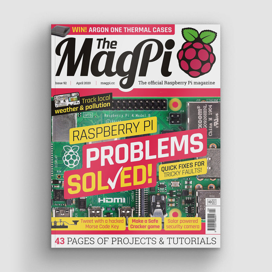 The MagPi magazine #92
