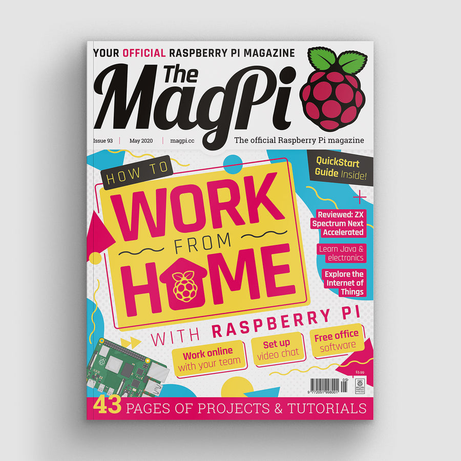 The MagPi magazine #93