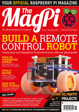 The MagPi magazine #51