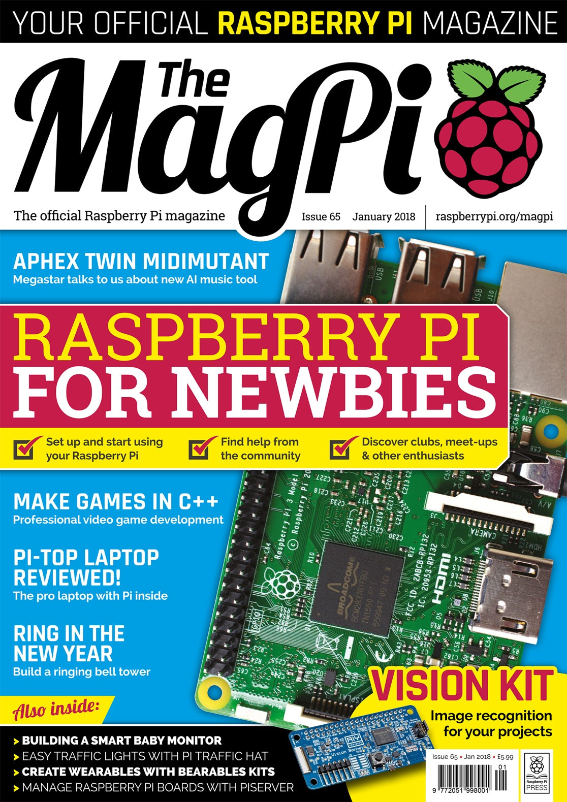 The MagPi magazine #65