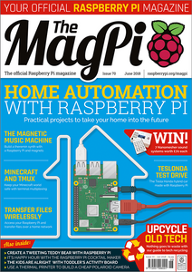 The MagPi magazine #70