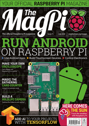 The MagPi magazine #71
