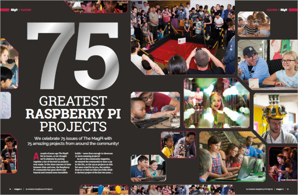The MagPi magazine #75