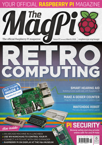 The MagPi magazine #67