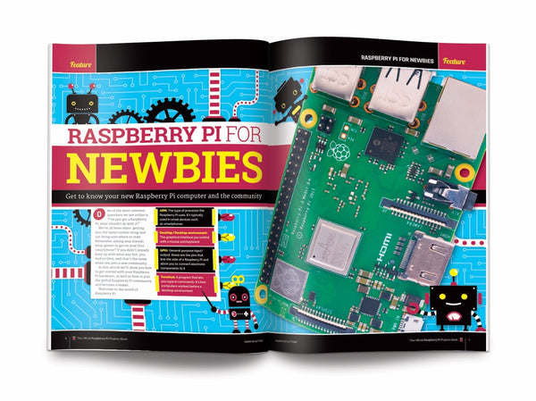 The official Raspberry Pi Projects Book - Volume 4 (2019)