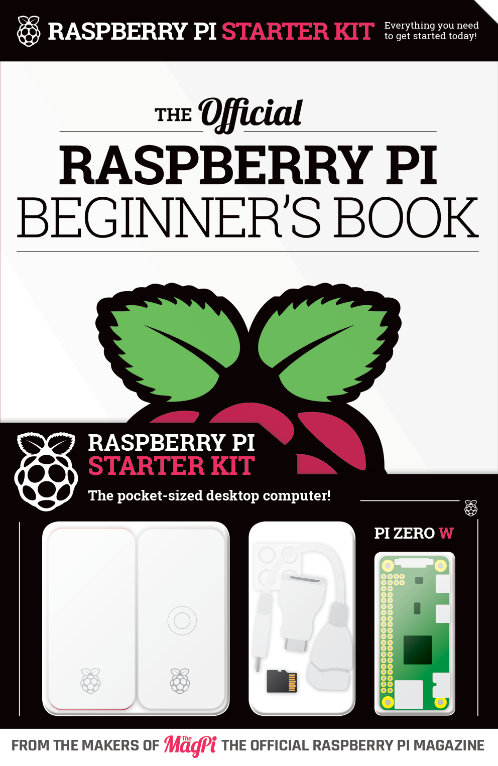 The official Raspberry Pi Beginner's Book - Volume 1 (2018)
