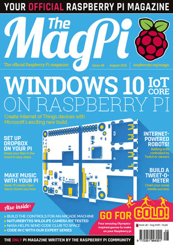 The MagPi magazine #48