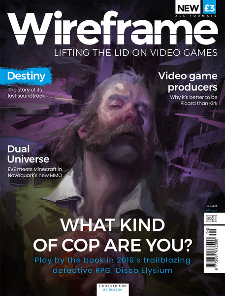 Wireframe magazine #4 - What kind of cop are you?