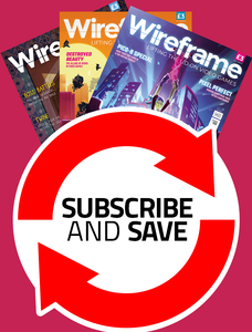 Wireframe magazine 12 issue VIP offer (recurring)