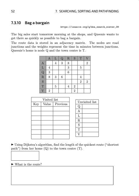 Isaac Computer Science: A Level Computer Science Workbook (AQA)