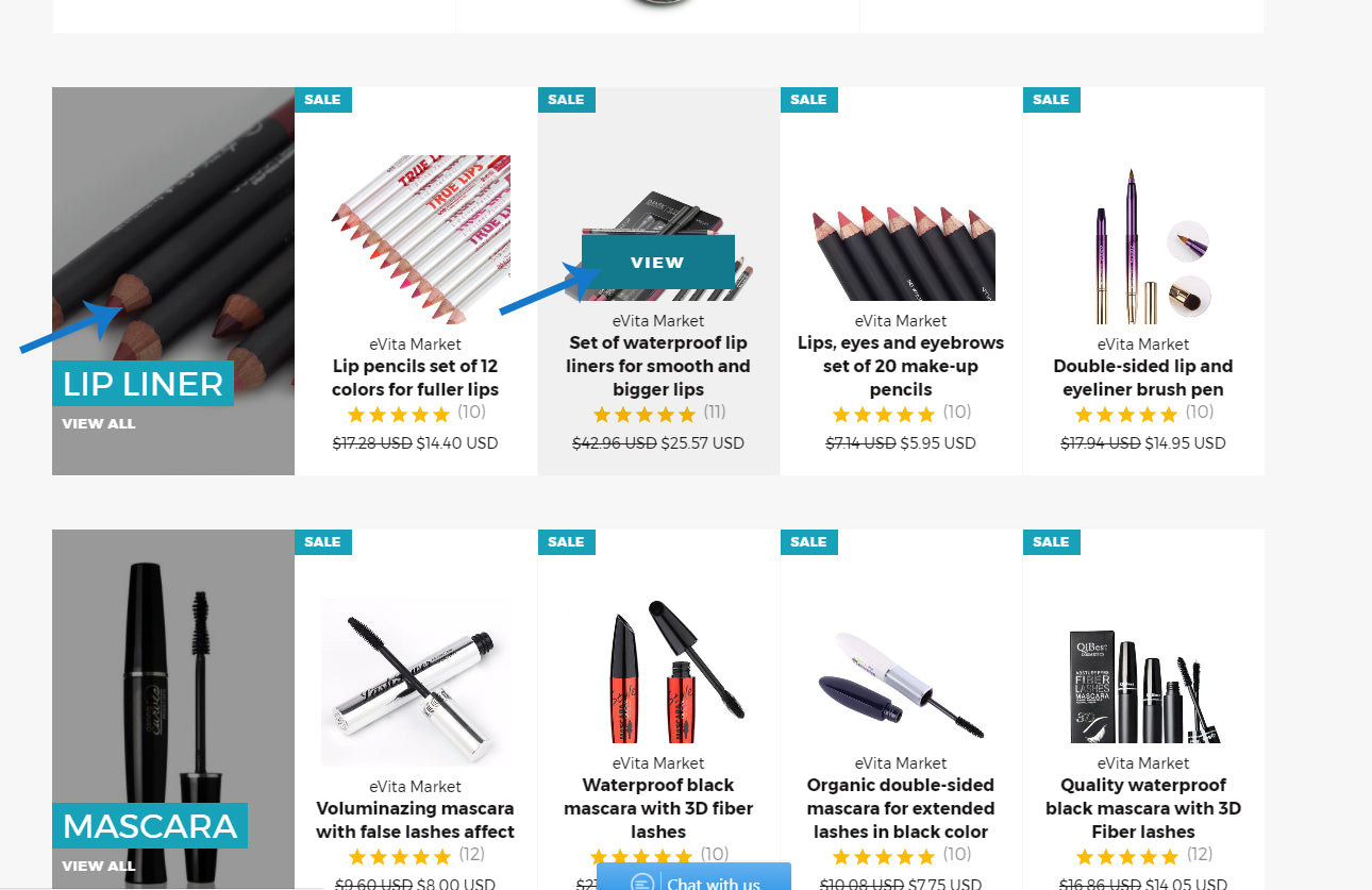How to add products to cart