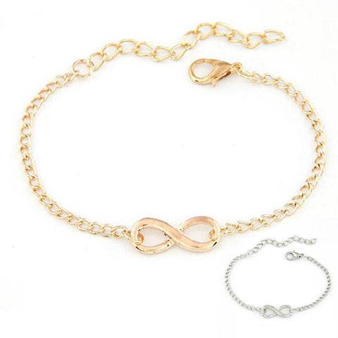 Attractive chain bracelet for women in gold and silver option - eVita Market