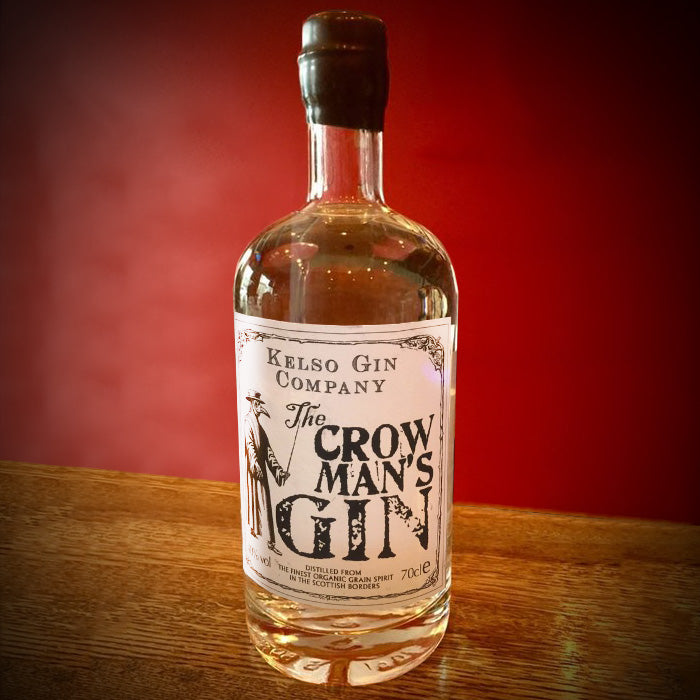 Kelso Gin Company original Crow Man's Gin 70cl