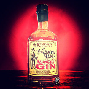 The Crow Man's Raspberry Gin