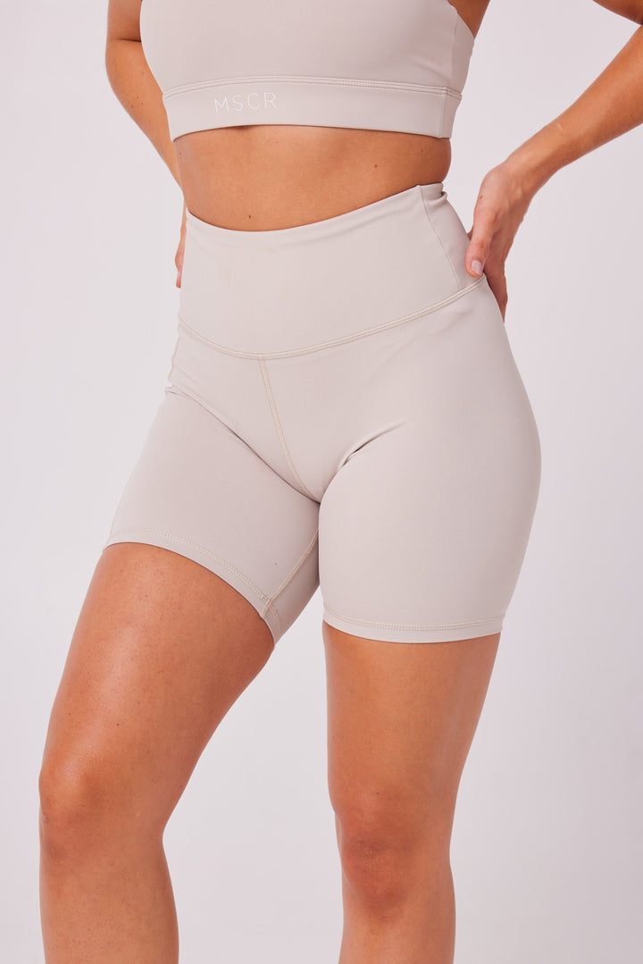 Ladies Shorts - NEUTRALS BIKERS - SAND
