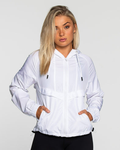 LADIES SWEATS & HOODIES - QUEST WINDBREAKER
