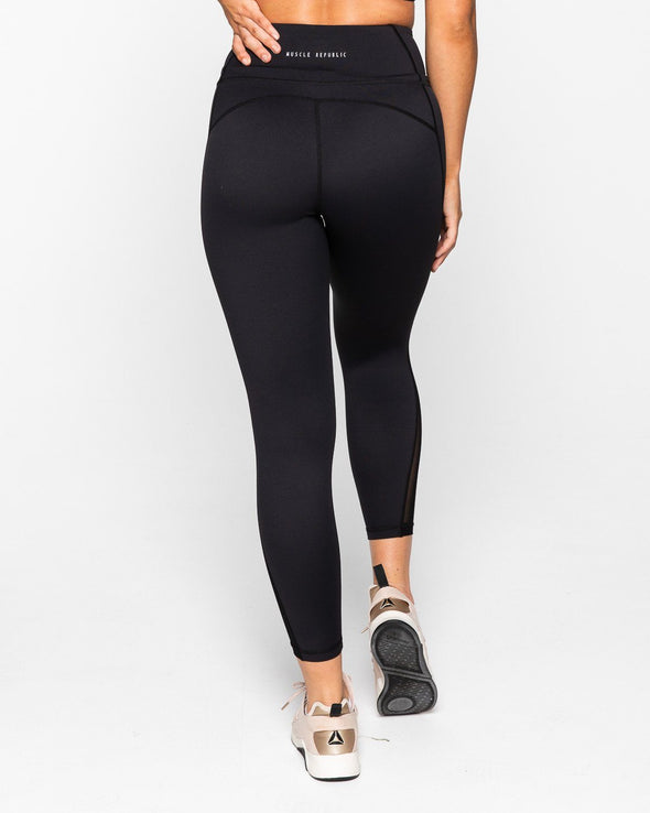 LEGGINGS - BREATHE 7/8 LEGGINGS BLACK