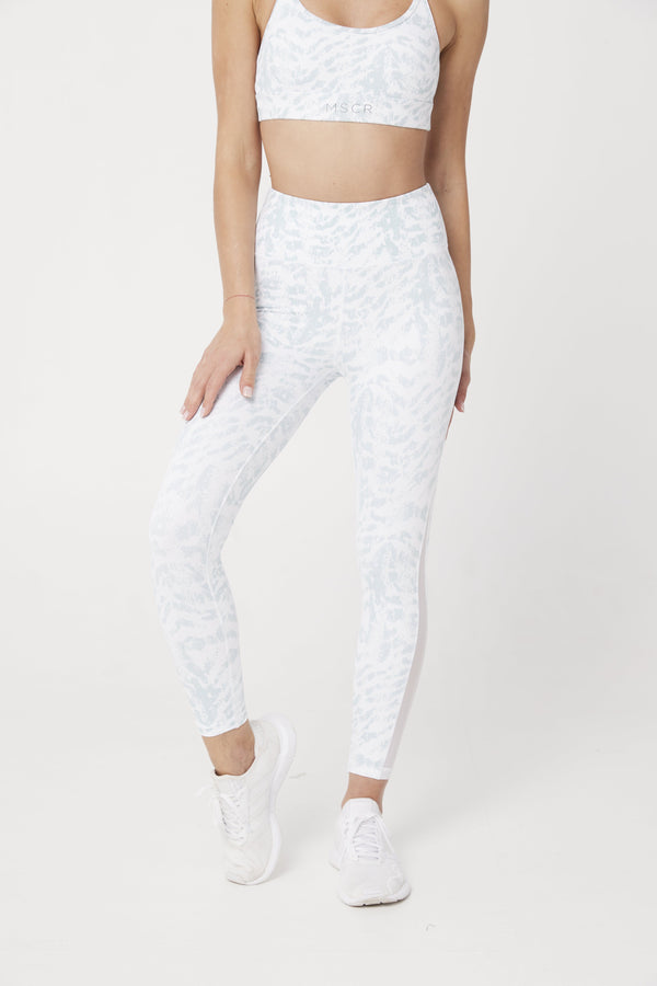 LEGGINGS - BREATHE 7/8 LEGGINGS WHITE CEO