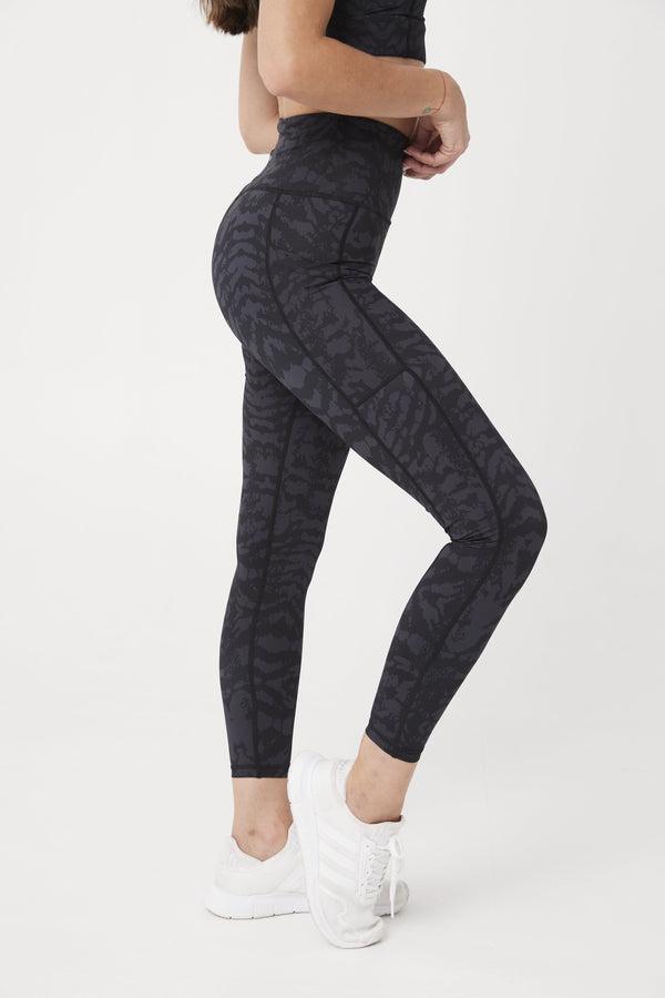 LEGGINGS - ELEVATE 7/8 LEGGINGS CHARCOAL CEO
