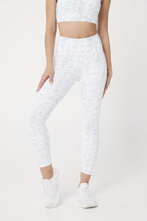 LEGGINGS - ELEVATE 7/8 LEGGINGS WHITE CEO