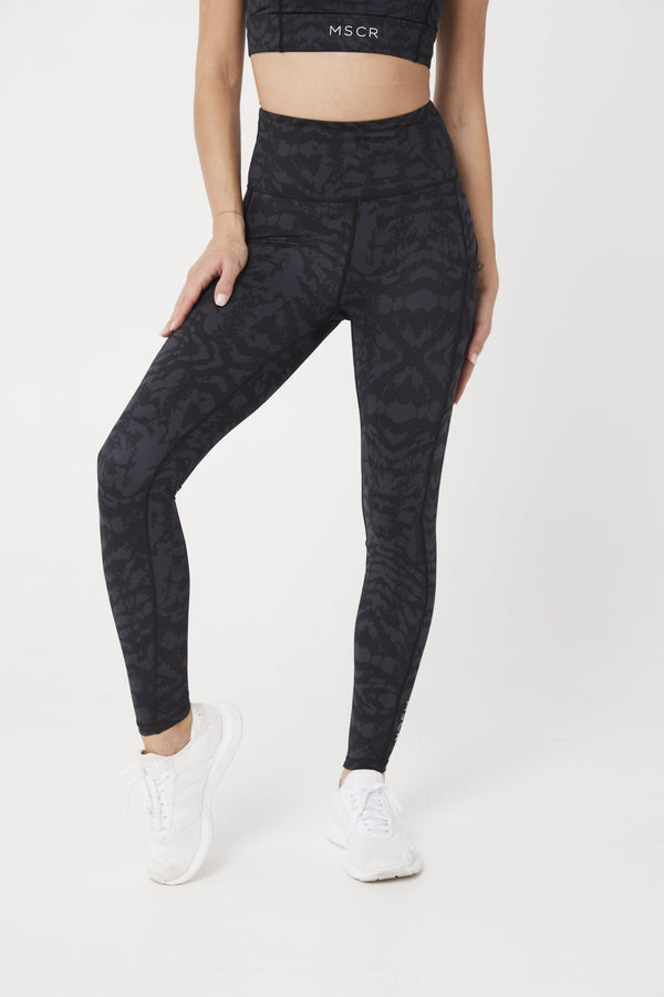 LEGGINGS - ELEVATE FULL LEGGINGS CHARCOAL CEO
