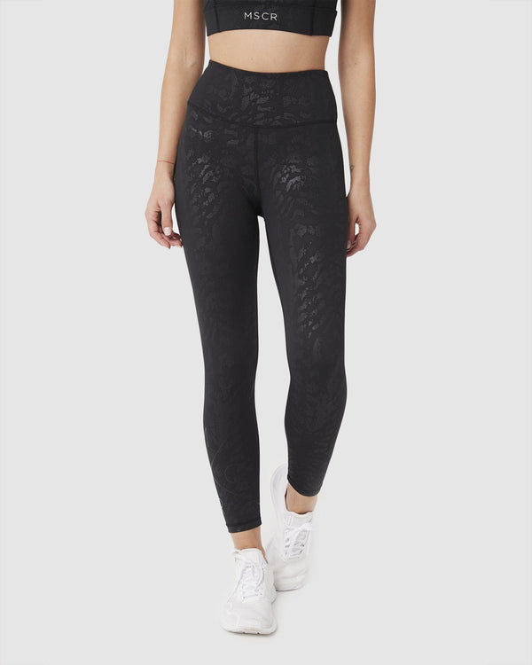 LEGGINGS - INSPIRE 7/8 LEGGINGS BLACK CEO