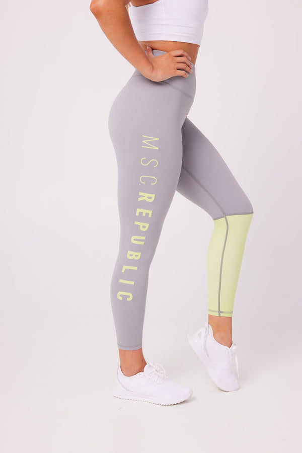 LEGGINGS - INSPIRE 7/8 LEGGINGS COOL GREY