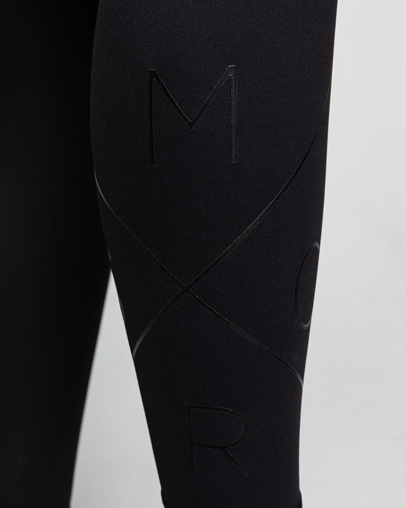 LEGGINGS - INSPIRE FULL LEGGINGS BLACK