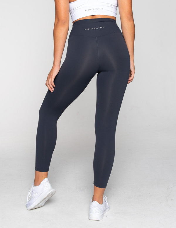 LEGGINGS - LUXE 7/8 LEGGING MIDNIGHT NAVY