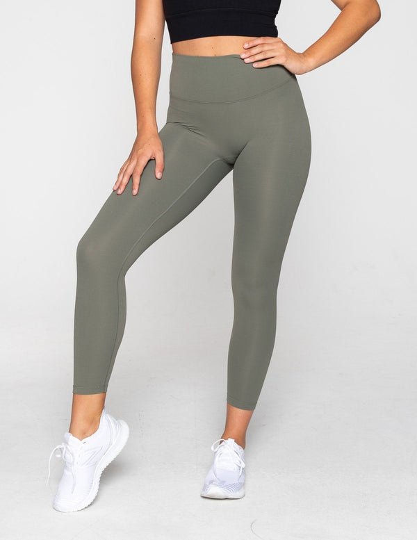 LEGGINGS - LUXE 7/8 LEGGING OLIVE