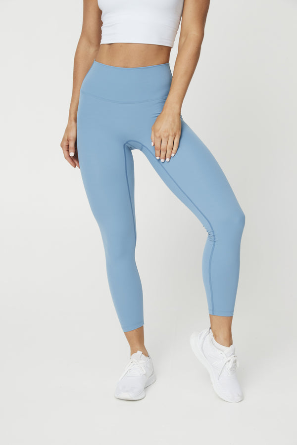 LEGGINGS - LUXE 7/8 LEGGING SKY BLUE