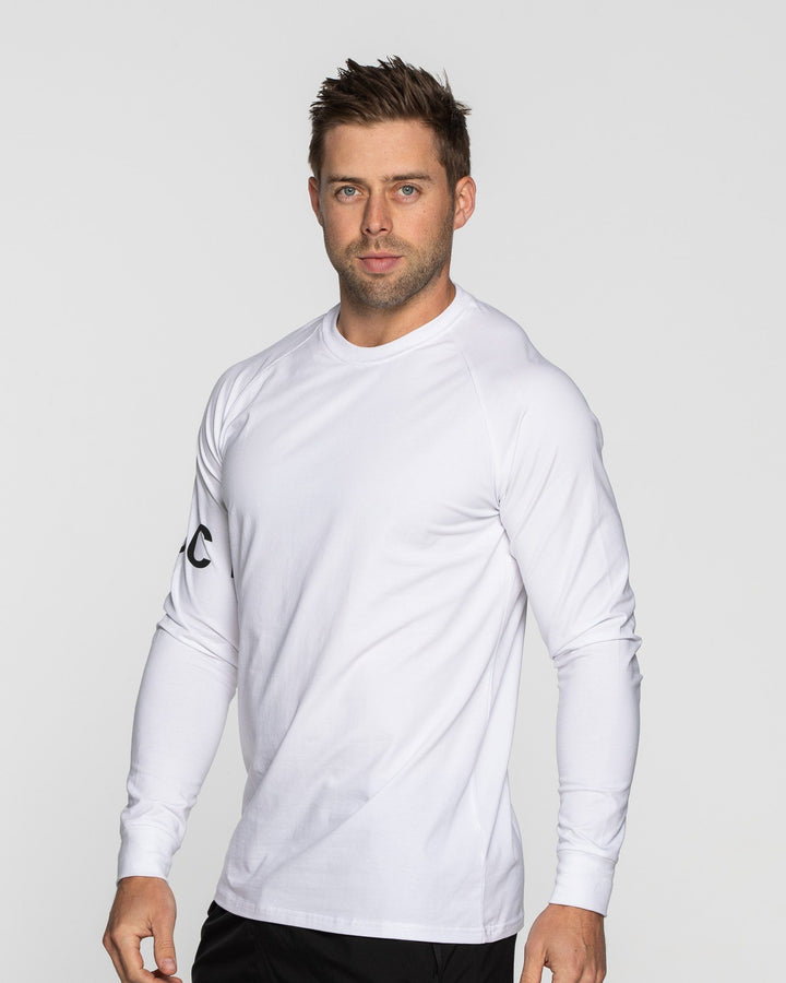 MEN'S CREED LONG SLEEVE WHITE