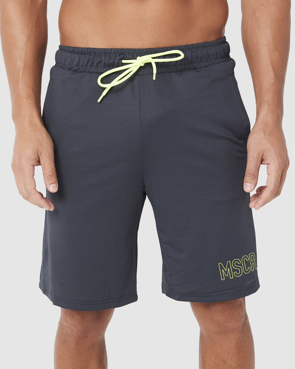 MENS SHORTS - BALLER SHORTS GRAPHITE