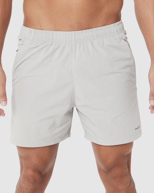 MENS SHORTS - TORO 4.5 SHORTS LIGHT GREY