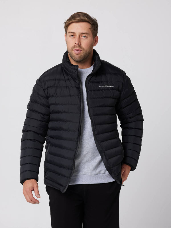 MENS SWEATS & HOODIES - MENS PUFFER JACKET