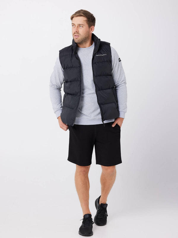 MENS SWEATS & HOODIES - MENS PUFFER VEST