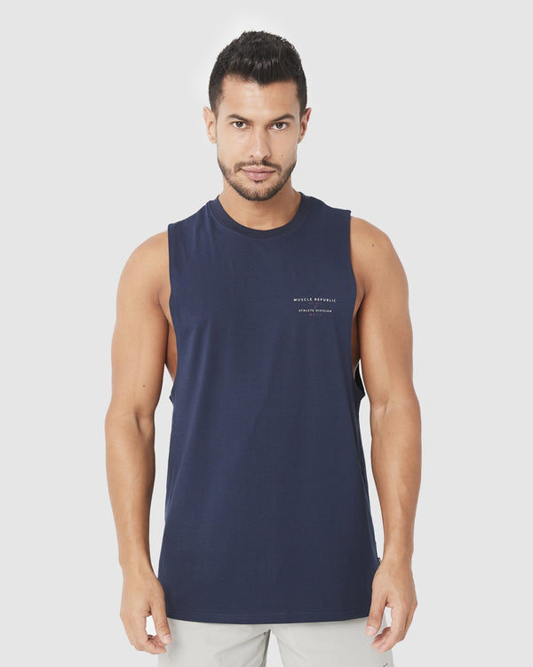MENS TOPS - ROCKY MUSCLE TEE ATHLETE DIVISION