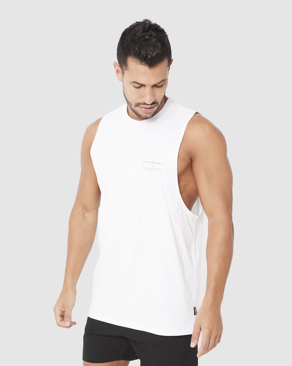 MENS TOPS - ROCKY MUSCLE TEE ATHLETE DIVISON