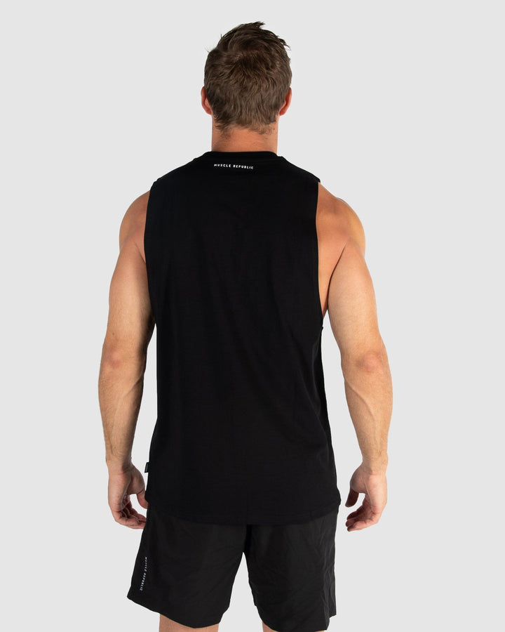 MENS TOPS - ROCKY MUSCLE TEE OG