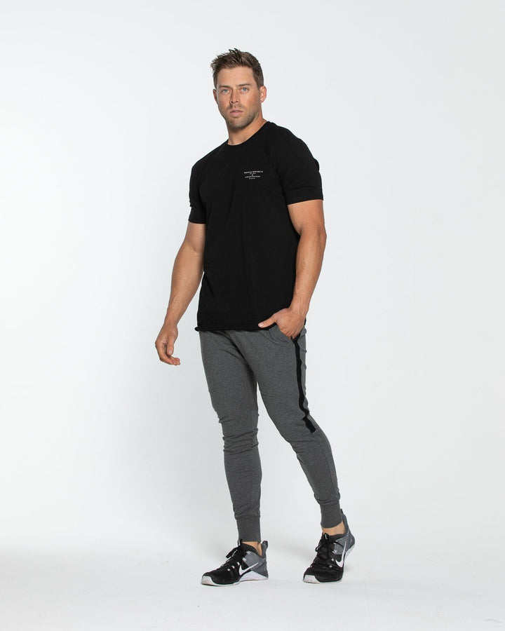 PRIME TRACKPANT CHARCOAL