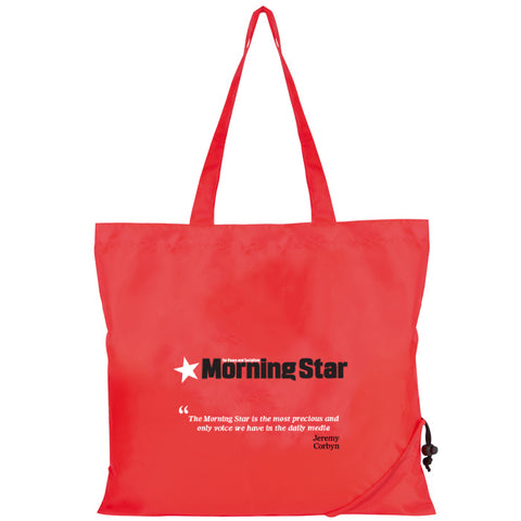 Morning Star Scrunchy Shopping Bag