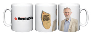 Jeremy Corbyn Morning Star Mug