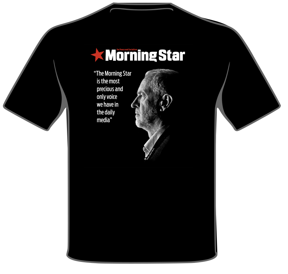 Morning Star Jeremy Corbyn T-Shirt