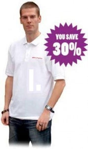 Morning Star White Polo Shirt