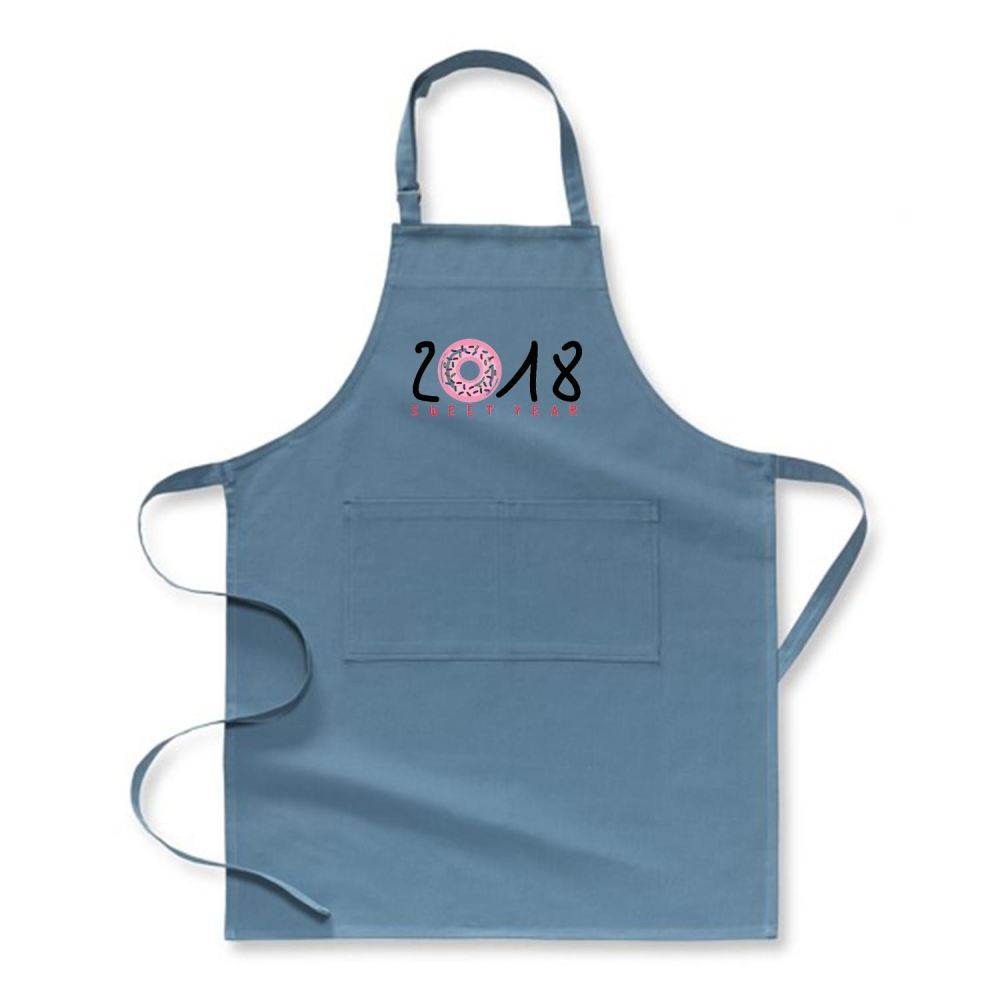 2018 Is Sweet Year New Apron - Hoki / Polyster - Productgenjpg
