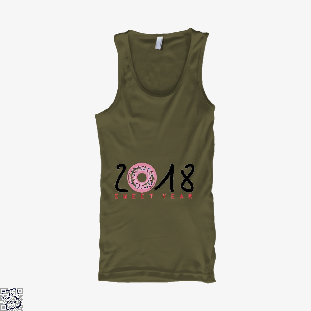 2018 Is Sweet Year New Tank Top - Men / Brown / X-Small - Productgenjpg