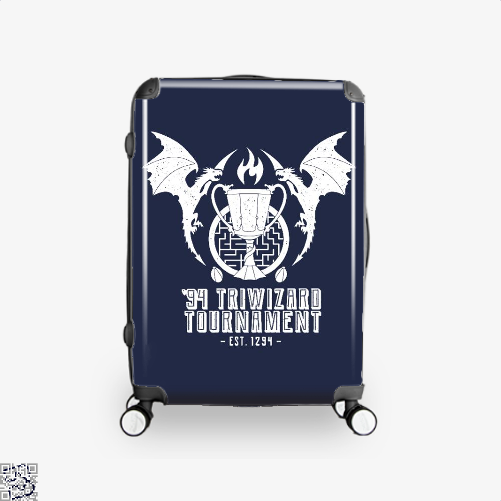94 Triwizard Tournament Harry Potter Suitcase - Blue / 16 - Productgenjpg