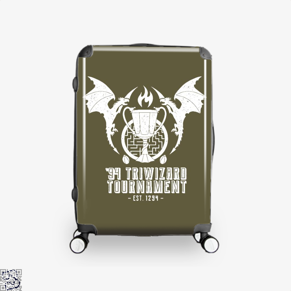 94 Triwizard Tournament Harry Potter Suitcase - Brown / 16 - Productgenjpg